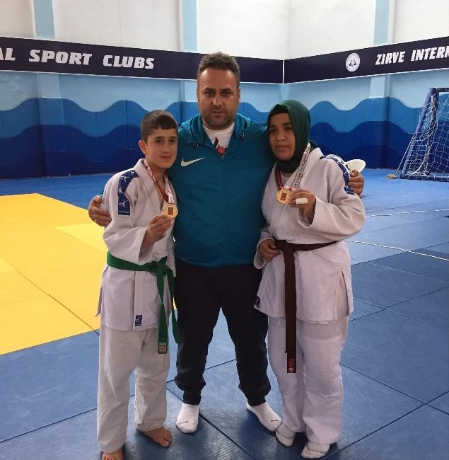 Görme Engelli Adıyamanlı Judocular Altın Madalya Kazandı