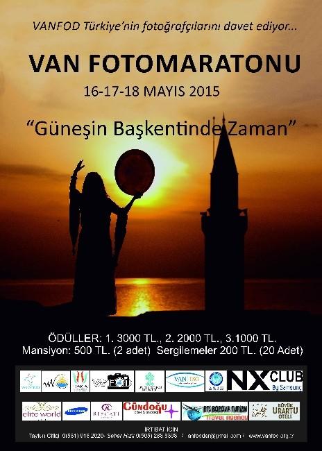 Van'da 'Güneşin Başkentinde Zaman' Konulu Fotoğraf Yarışması