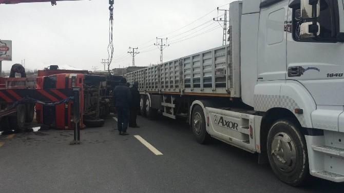 Van'da İlginç Trafik Kazası