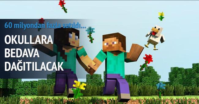 Kuzey İrlanda'da okullara bedava Minecraft dağıtılacak!