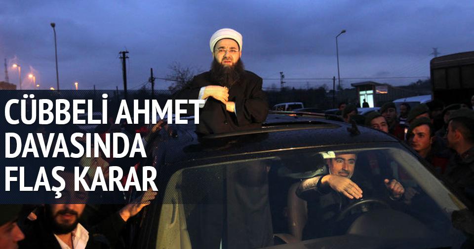 Cübbeli Ahmet Hoca davasında flaş karar!