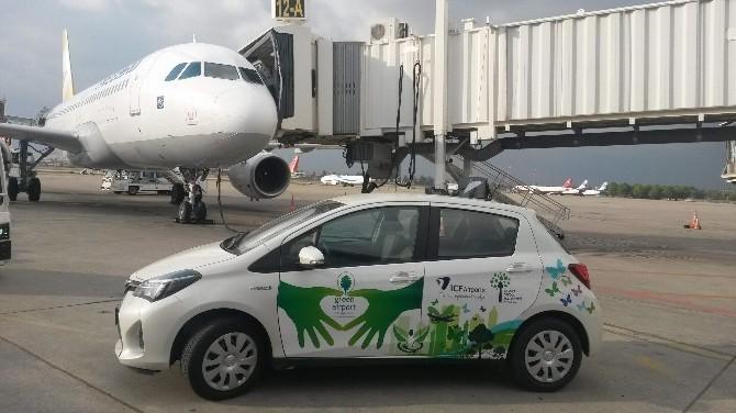 Icf Airports Antalya Havalimanı Apronda Elektrikli Araç Kullanmaya Başladı