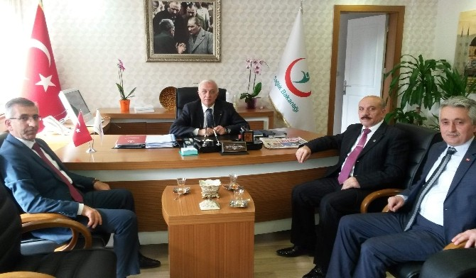 Bozkurt'tan Kamu Hastaneleri Birliğine Ziyaret