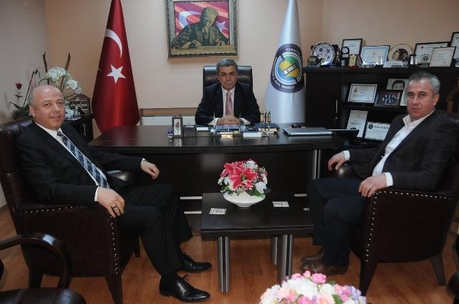 Kaymak Demirtaş'ı Ziyaret Etti