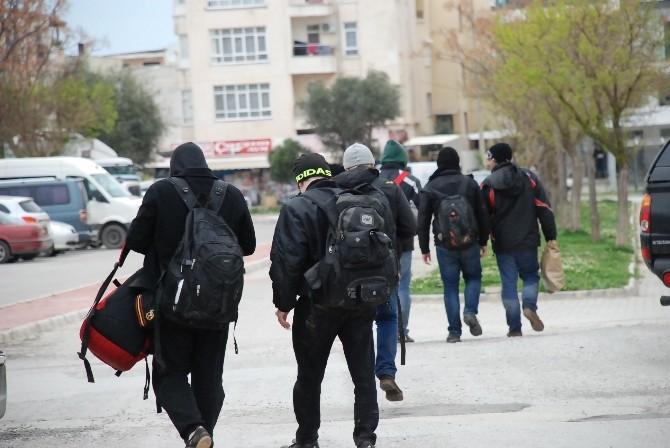 Didim'de 93 Kaçak Göçmen Yakalandı