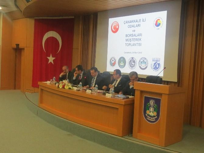 Çanakkale'nin Sorunlarını Başbakan Davutoğlu'na İletecekler