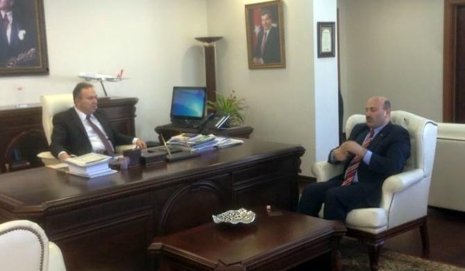 Türkyılmaz Ziyaretlerini Sürdürüyor