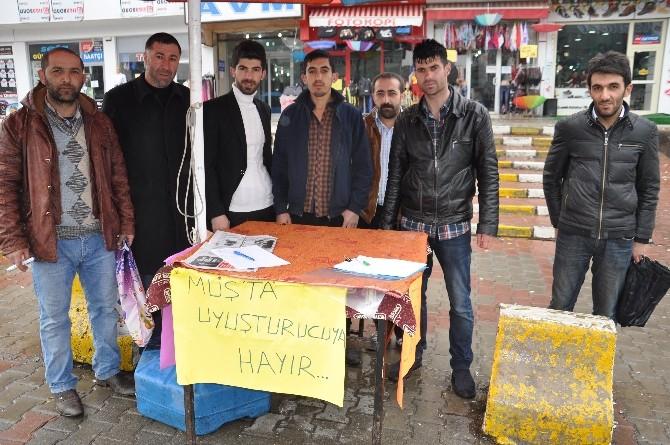 Muş'ta 'Uyuşturucuya Hayır' Kampanyası