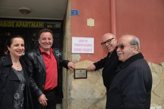 'Apartmanlarımız Okutacak Süleymanpaşa'nın Filizleri Yetişecek' Projesinin İlk Plaketi Asıldı
