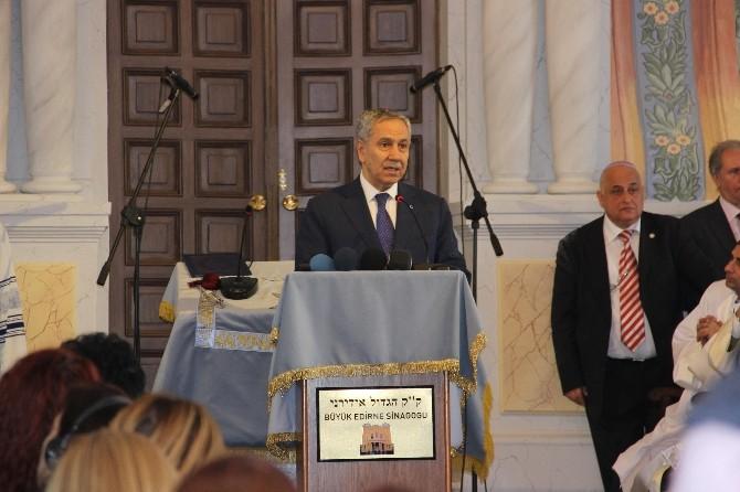 Büyük Edirne Sinagogu 46 Yıl Sonra Yeniden İbadete Açıldı