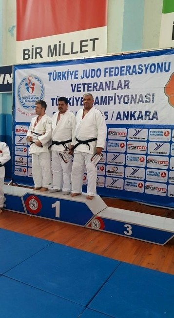 Veteranlar Judo'da Derece