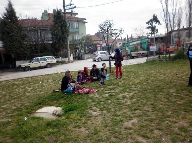 Dilenen Suriyeli Mülteciler Yalova Dışına Çıkarıldı