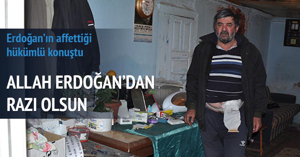 Erdoğan'ın affettiği hükümlü konuştu