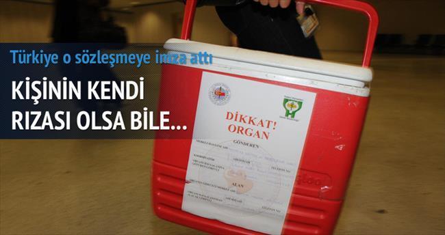 Türkiye, 'Organ Ticaretine Karşı Avrupa Sözleşmesi'ne imza attı
