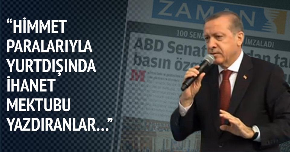 Erdoğan'dan Paralel yapıya sert sözler