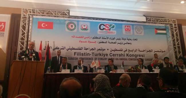 Türkiye - Filistin Cerrahi Kongresi Gazze'de Başladı