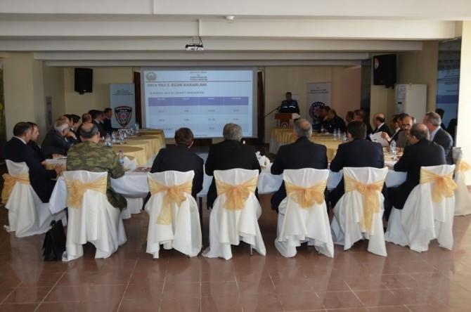 2015 Yılı Kent Güvenlik Danışma Kurulu Toplantısı Yapıldı