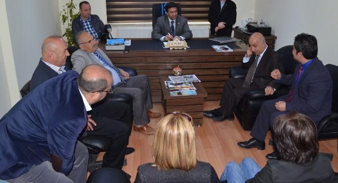 Aksaray İl Emniyet Müdürü Aslan'dan Gazetecilere Ziyaret