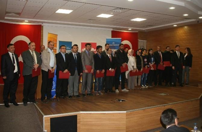 Anadolu Üniversitesi Açıköğretim Fakültesi Yozgat'taki Başarılı Öğrencilerini Unutmadı