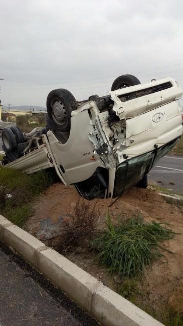 Burhanhiye'de Kaza: 1 Yaralı