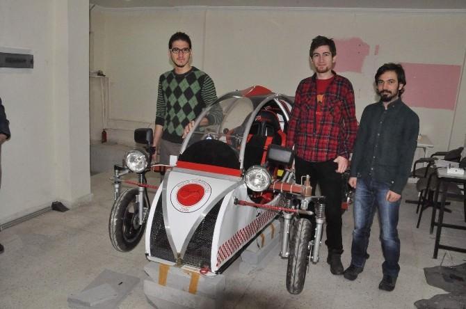 Bozok Üniversitesi Öğrencileri Tasarladıkları Elektrikli Araca Destek Bekliyor
