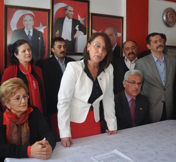 Aliye Ertopçu MHP'den Aday Adaylığını Açıkladı