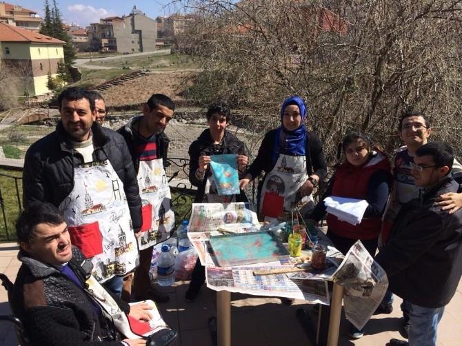 Engellilere Ebru Eğitimi