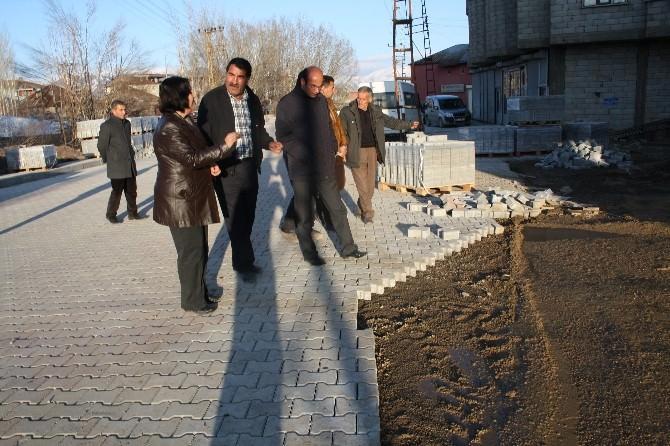 Yüksekova Belediyesi Eş Başkanları Çalışmaları Denetledi
