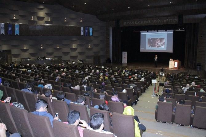Şair, Yazar Ve Psikiyatr Prof. Dr. Kemal Sayar HKÜ'de