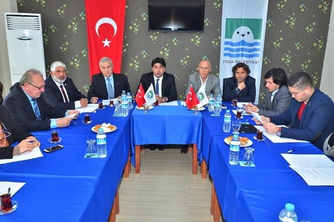 Kent Konseyi Başkanları Foça'da Buluştu