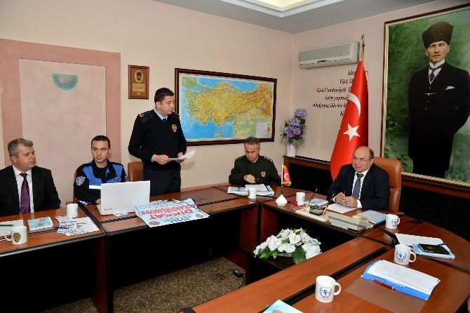 Kent Güvenlik Danışma Kurulu Toplandı