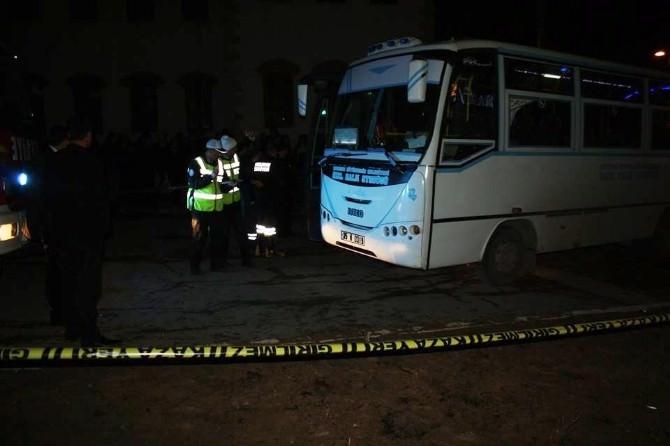 Mukaddes'in Ölümüne Neden Olan Halk Otobüsü Sürücüsü Tutuklandı