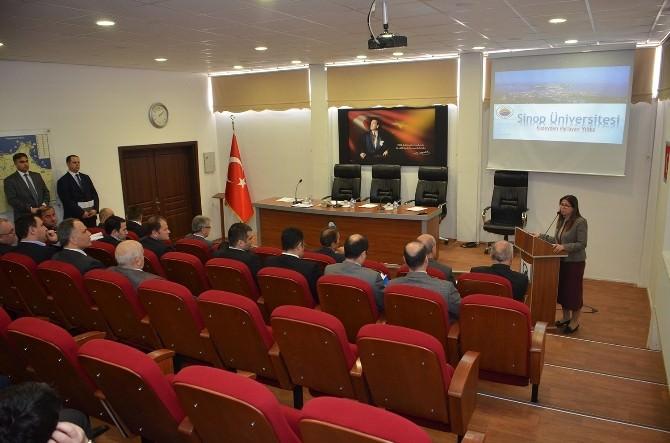 Sinop Üniversitesi Vakıf Toplantısı