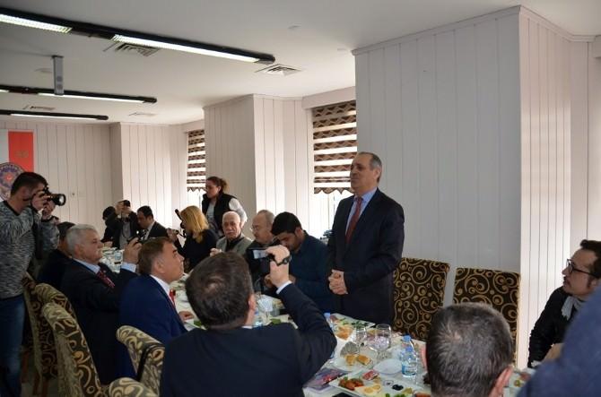 Tekirdağ Valisi Enver Salihoğlu Basın Mensupları İle Bir Araya Geldi