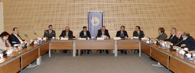 Yüksel, TOBB'un Avrupa Birliği Uyum Komisyonu Toplantısına Katıldı