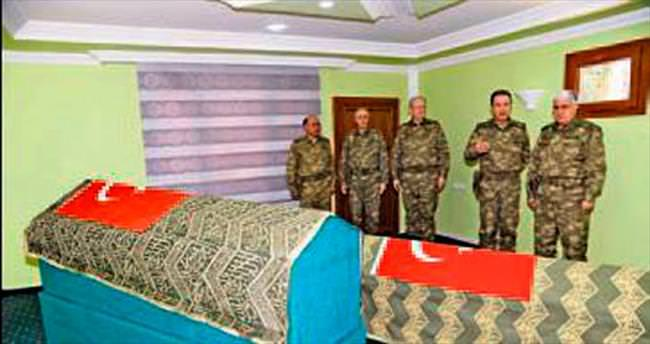 Özel'den Süleyman Şah ziyareti