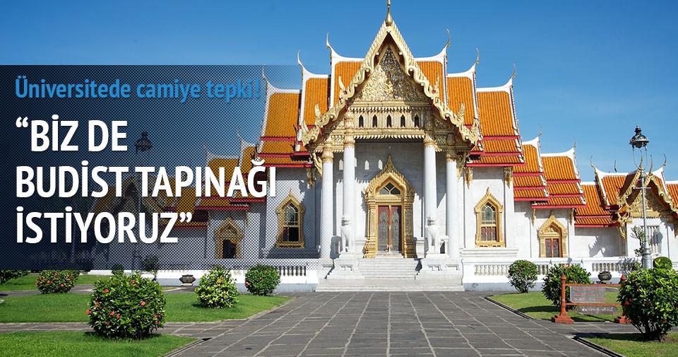 Üniversiteye budist tapınağı istediler