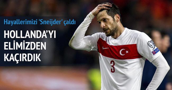 Hollanda—Türkiye : 1-1 (Geniş-özet)