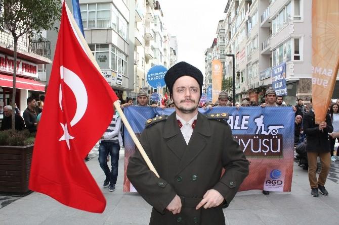 Samsun Sokakları Mehter İle Yankılandı