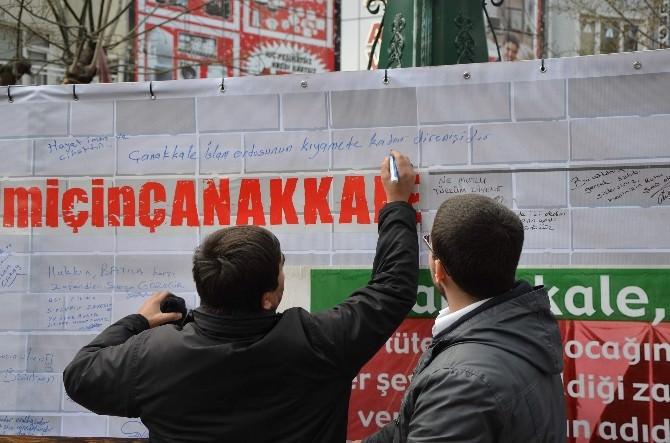 Çanakkale Zaferinin 100'üncü Yılında Ümmet Yürüyüşü