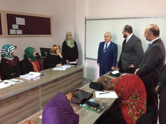 Edirne Valisi Şahin, İlahiyat Fakültesinde İncelemelerde Bulundu