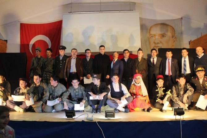 Cumayeri Çok Programlı Anadolu Lisesi Çanakkale Zaferi'nin 100. Yılını Kutladı