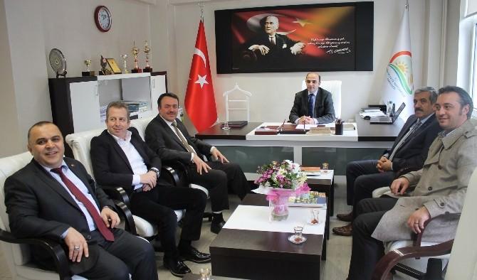 MÜSİAD Yönetimi Kabaoğlu'nu Ziyaret Etti