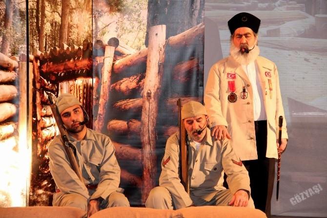 Gözyaşı Geceleri Tarafından 'Zaferin Gözyaşları' Adlı Oyun Nevşehir'de Sahnelendi