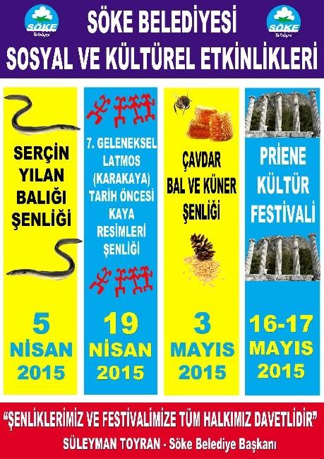 Söke'nin Köyleri Festivallerle Canlanacak
