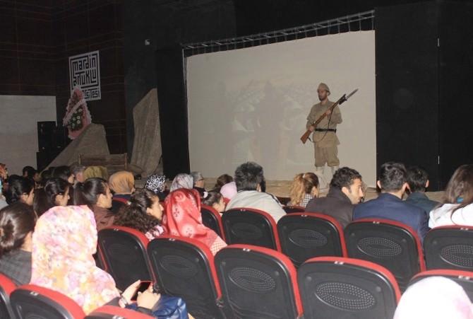 Mardin'de 'Destan 1915' Tiyatro Oyunu Sahnelendi