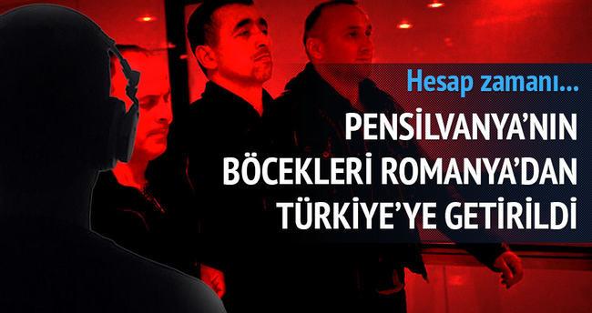 Firari Paralel polisler Türkiye'ye iade edildi