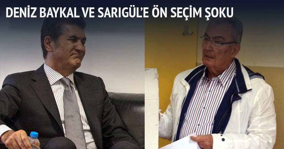 Baykal ve Sarıgül'e ön seçim şoku