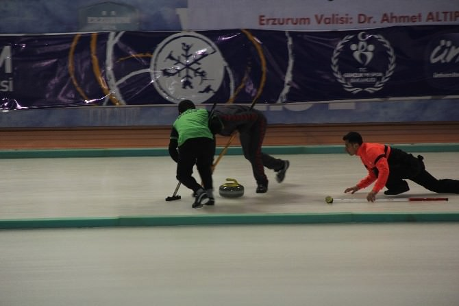 Türkiye Curling 1. Ligi Final Mücadeleleri Sona Erdi