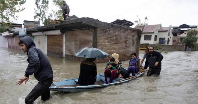 Keşmir'de sel uyarısı